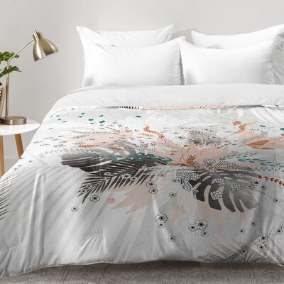 Iveta Abolina Tropical Comforter Set Size: King