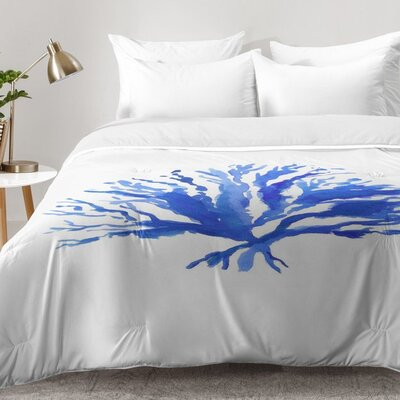 Sea Coral Comforter Set Size: Twin XL