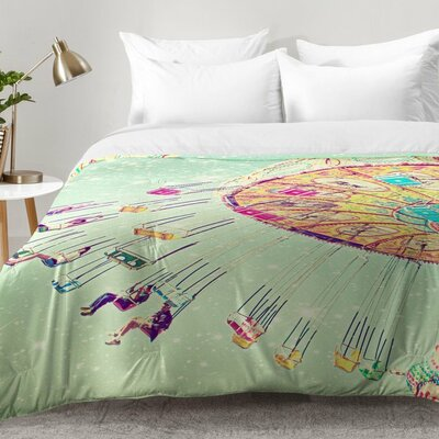 Swinging Through Stars Comforter Set Size: King