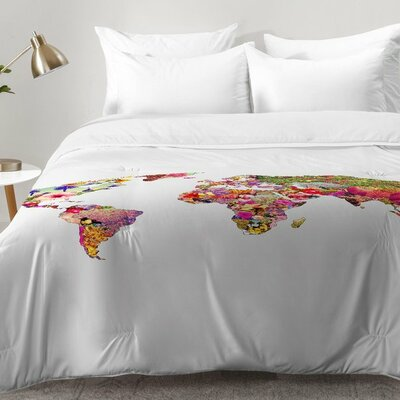 Bianca Green Its Your World Comforter Set Size: Twin XL