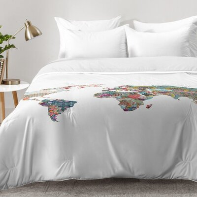 Louis Armstrong Told Us So Comforter Set Size: King