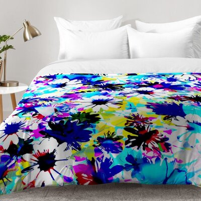 Floral Comforter Set Size: King