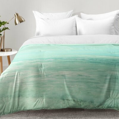 Lisa Argyropoulos Where Ocean Meets Sky Comforter Set Size: Twin XL