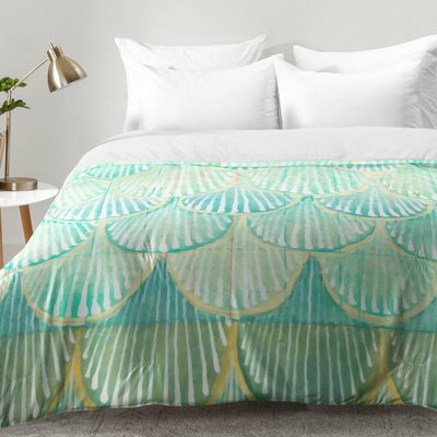 Scallops Comforter Set Size: King