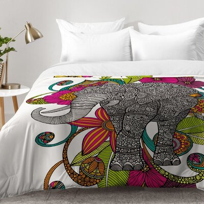 Ruby The Elephant Comforter Set Size: Full/Queen