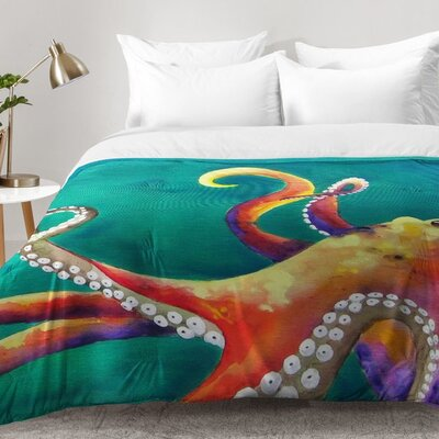 Octopus Comforter Set Size: King