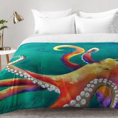 Octopus Comforter Set Size: Full/Queen