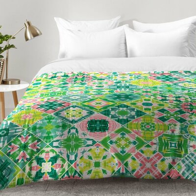 Tropical Tiles Comforter Set Size: Twin XL