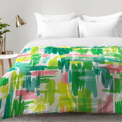 Tropical Abstract Comforter Set Size: Twin XL
