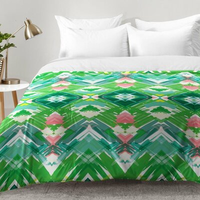 Jenean Morrison Tropical Holiday Comforter Set Size: Twin XL