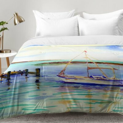 Laura Trevey Summer Sail Comforter Set Size: Twin XL