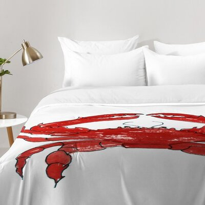 Crab Comforter Set Size: Twin XL