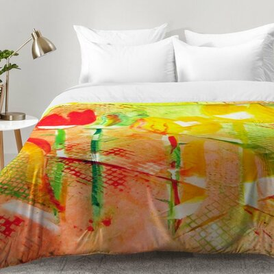 Laura Trevey Citrus Tulips Comforter Set Size: King