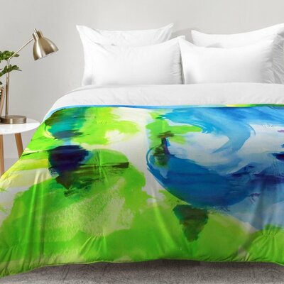 Shot Of Lime Comforter Set Size: King