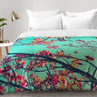 Summer Bloom Comforter Set Size: Full/Queen