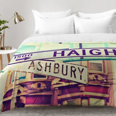 Haight Ashbury Comforter Set Size: King