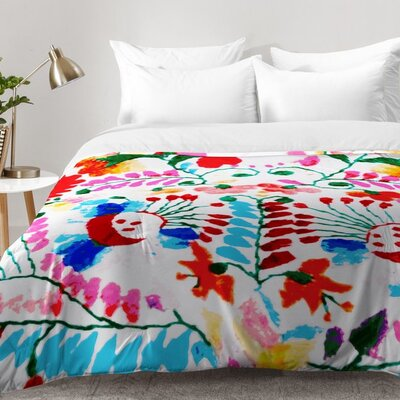 Deb Haugen Mexican Surf Trip Comforter Set Size: Full/Queen