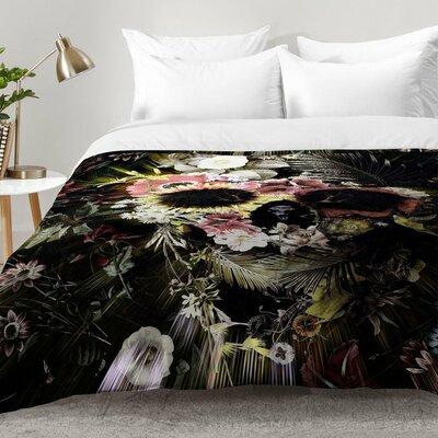 Garden Skull Comforter Set Size: Twin XL