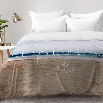 Leah Flores Lets Run Away III Comforter Set Size: Full/Queen