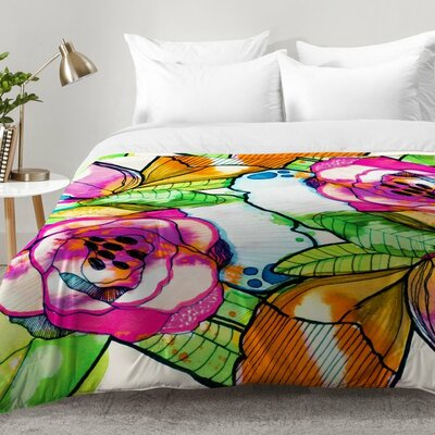 Fantasy Garden Comforter Set Size: Twin XL