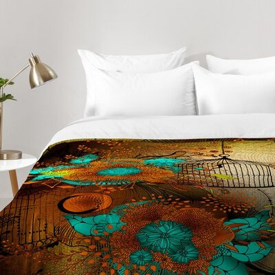 Iveta Abolina Rusty Lace Comforter Set Size: King