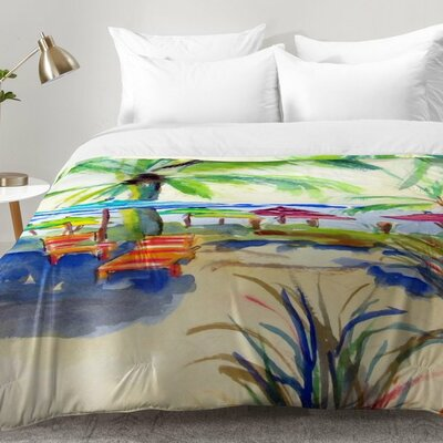 Caribbean Time Comforter Set Size: Twin XL