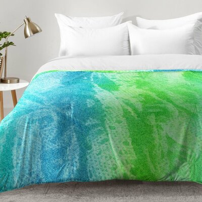 Caribbean Sea Comforter Set Size: King