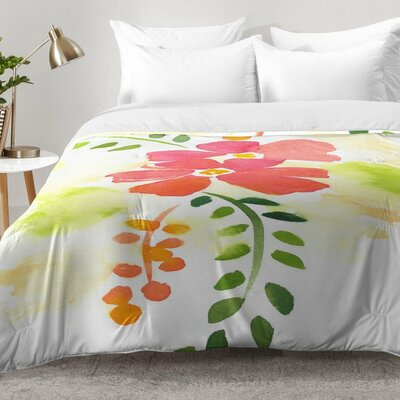 First Bloom Comforter Set Size: King
