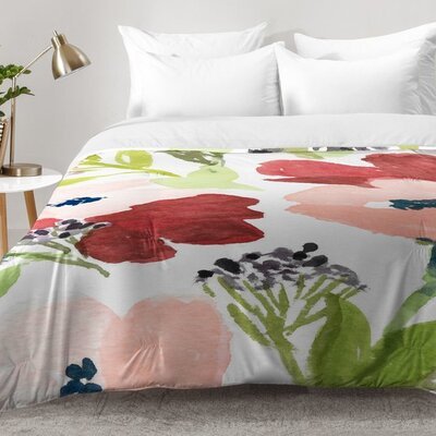 Poppies Comforter Set Size: King