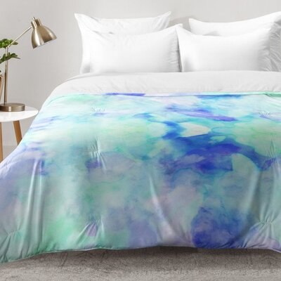 Water Clouds Comforter Set Size: Full/Queen
