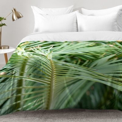 Whispered Fronds Comforter Set Size: Full/Queen