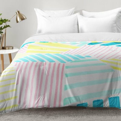 Stripes Comforter Set Size: King