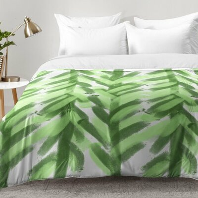 Greenery Forest Comforter Set Size: Twin XL