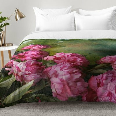 Lisa Argyropoulos Peony Romance Comforter Set Size: Full/Queen