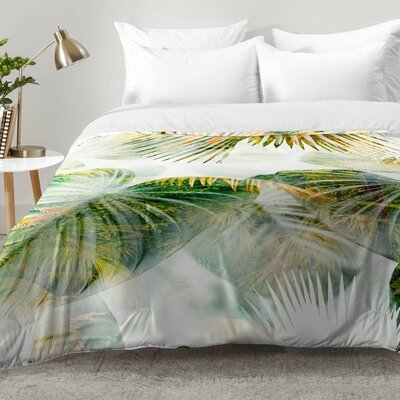 Tropical Lush Comforter Set Size: Full/Queen