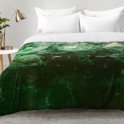 Emerald Gem Comforter Set Size: King