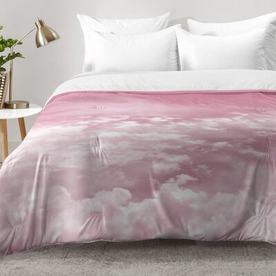 Through Rose Colored Glasses Comforter Set Size: King
