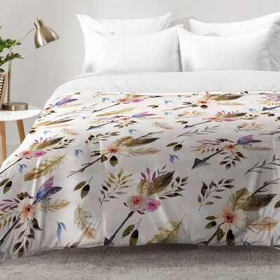 Bohemian Pattern Comforter Set Size: Twin XL