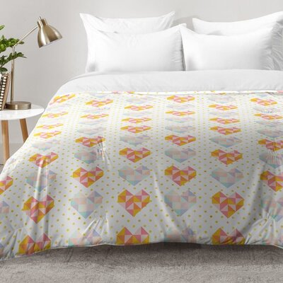 Love Patch Comforter Set Size: Full/Queen