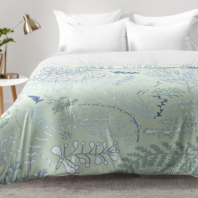 Monika Strigel Herbs and Ferns Comforter Set Size: Twin XL