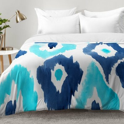 Malibu Ikat Comforter Set Size: King