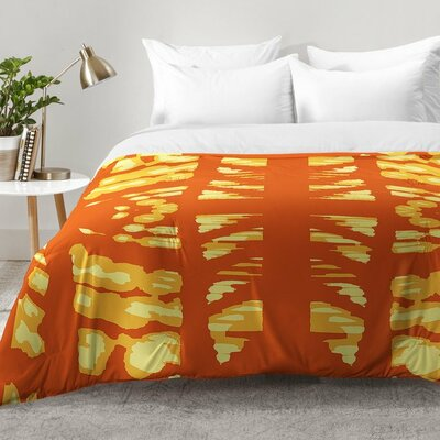 Pumpkin Latte Comforter Set Size: Full/Queen