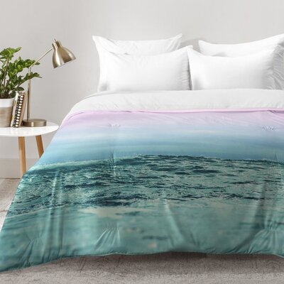 Sky and Sea Comforter Set Size: Full/Queen