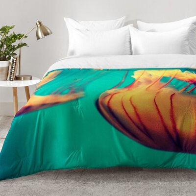 Jellyfish 12 Comforter Set Size: Full/Queen
