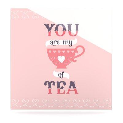 'My Cup of Tea' Textual Art on Metal EUHH2574 37885857