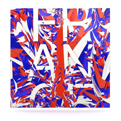World Cup 'France' Graphic Art Print on Metal EUHH2694 37886098