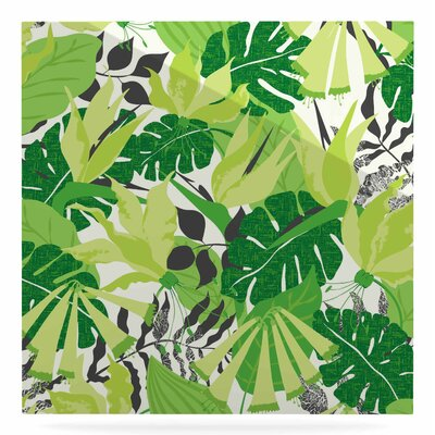 'Tropicana' Graphic Art Print on Metal in Green EUHH1173 37880558