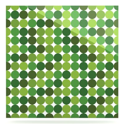 'Noblefur' Graphic Art Print on Metal in Green EUHH1925 37882142