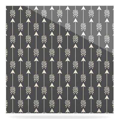 'Tribal Arrow' Graphic Art Print on Metal EUHH3069 37887266