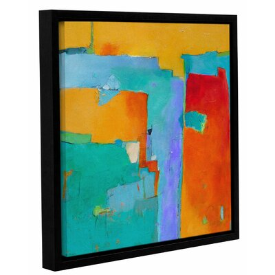 'Shades of a City' Framed Painting Print on Canvas Size: 10
